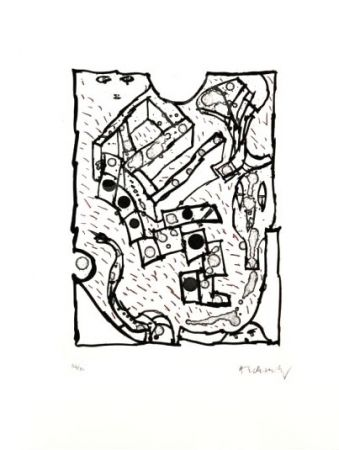 Etching And Aquatint Alechinsky -