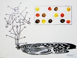 Lithograph Capelan - Sans titre