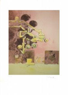 Lithograph Sutherland - Sans titre
