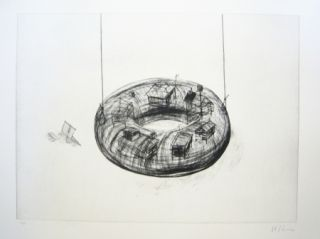 Etching And Aquatint Kcho - Sans titre