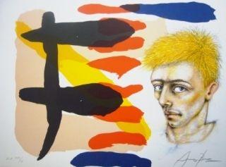 Lithograph Arranz-Bravo - Sans titre