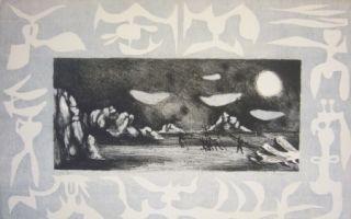 Lithograph Lurcat - Sans titre