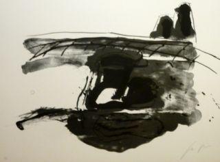 Lithograph Delgado - Sans titre