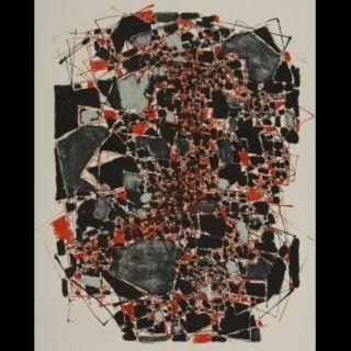 Lithograph Dumitresco - Sans titre