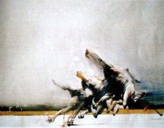 Lithograph Shahabuddin - Sans titre
