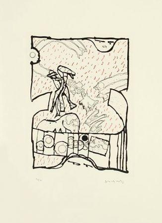 Etching And Aquatint Alechinsky - Sans Titre