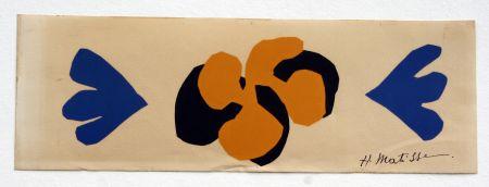Lithograph Matisse - Sans Titre