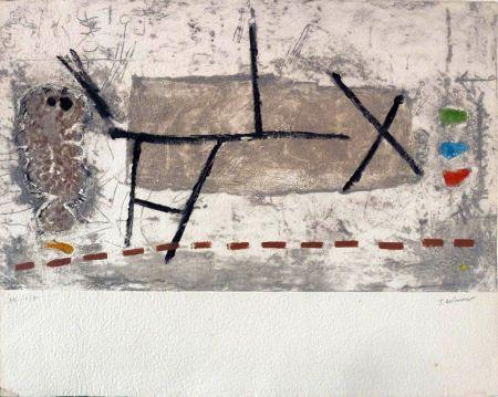 Lithograph Coignard - Sans titre