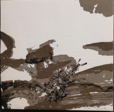 Lithograph Zao - Sans titre