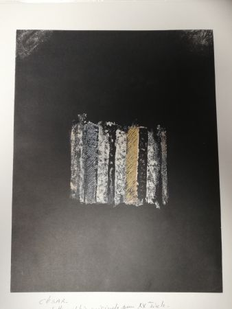 Lithograph Cesar - Sans titre