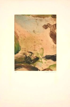 Etching And Aquatint Zao - Sans Titre