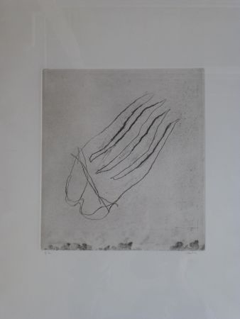 Etching Fautrier - Sans titre