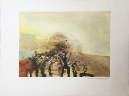 Aquatint Zao - Sans titre