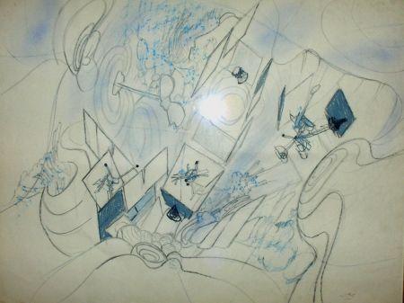 Lithograph Matta - Sans Titre