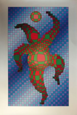 Screenprint Vasarely - Sans titre