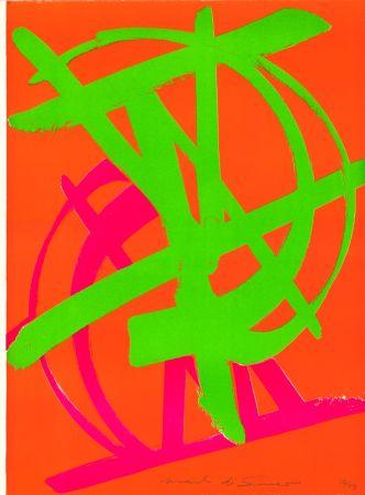 Lithograph Di Suvero - Sans Titre
