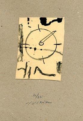 Lithograph Texier - Sans titre