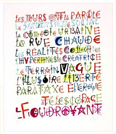 Numeric Print Villeglé - Sans titre