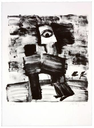 Lithograph Haugen Sørensen - Sans titre