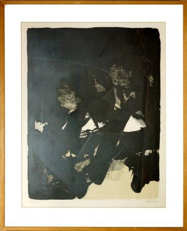 Lithograph Soulages - Sans titre