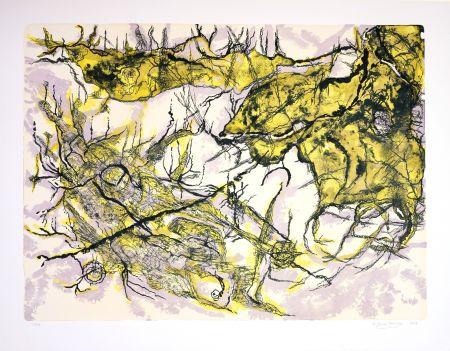 Lithograph Henriquez - Sans titre