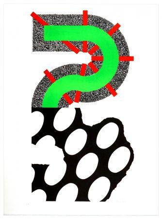 Lithograph Sugai - Sans titre