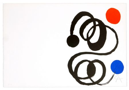 Lithograph Calder - Sans titre