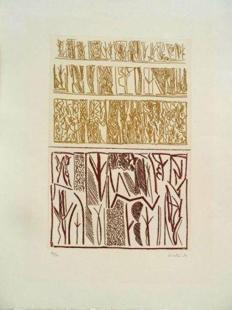 Etching Licata - Sans Titre