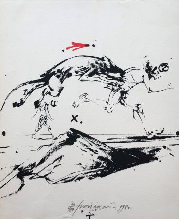 Lithograph Velickovic - Sans titre