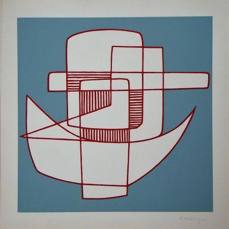 Lithograph Holley - Sans titre