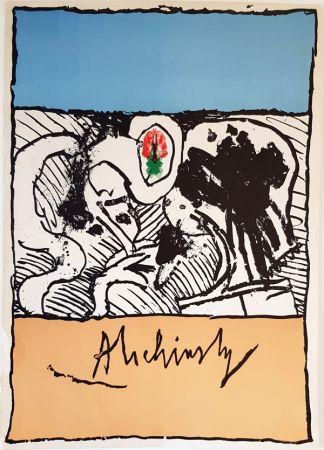 Lithograph Alechinsky - Sans Titre