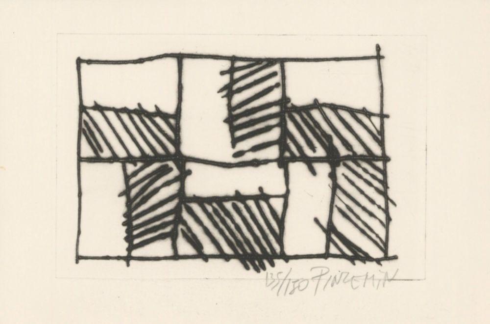 Engraving Pincemin - Sans titre - Untitled