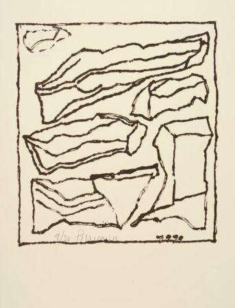 Lithograph Pincemin - Sans titre - Untitled