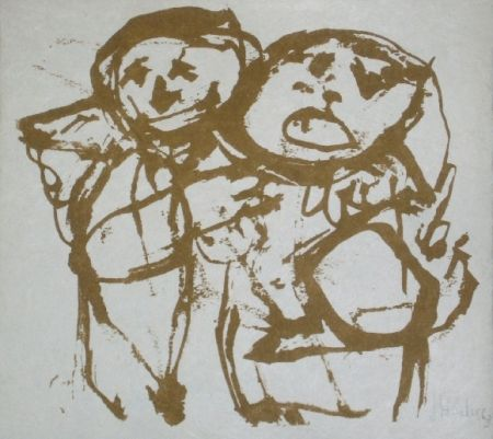 Lithograph Silva - Sans titre 12