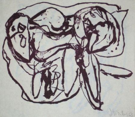 Lithograph Silva - Sans titre 15