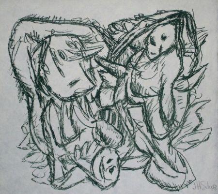 Lithograph Silva - Sans titre 16