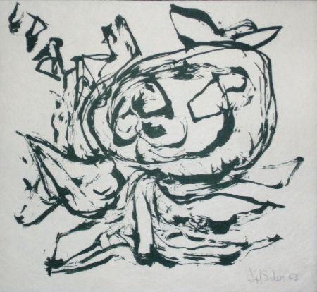 Lithograph Silva - Sans titre 18