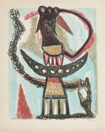 Lithograph Atlan - Sans titre, 1953