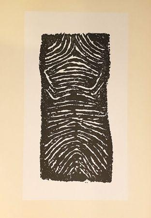 Lithograph Ubac - Sans titre (1971)