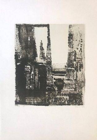 Lithograph Vieira Da Silva - Sans titre 2