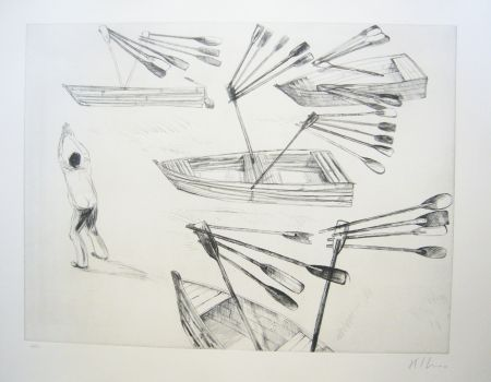 Etching And Aquatint Kcho - Sans titre 2