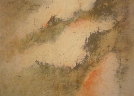 Lithograph Salinas - Sans titre 2