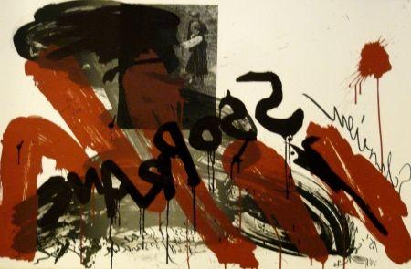 Lithograph Vostell - Sans titre 2
