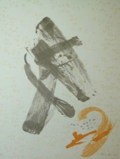 Lithograph Rossell - Sans titre 2