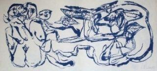Lithograph Silva - Sans titre 27
