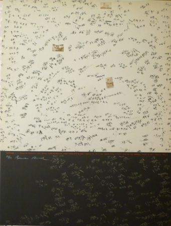 Lithograph Rossell - Sans titre 3