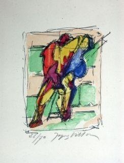 Lithograph Villon - Sans titre 3