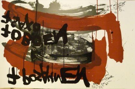 Lithograph Vostell - Sans titre 4