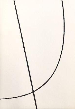 Lithograph Hartung - Sans titre 4