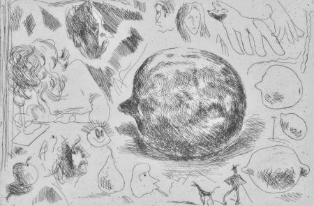 Engraving Cossé - Sans titre [Citrons]